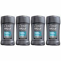 4-Pack 2.7oz Dove Men+Care Antiperspirant Deodorant Stick, Clean Comfort $7.44 w/ S&S + Free s/h