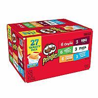 27-Count 0.75oz Pringles Snack Stacks Potato Crisps Chips, Variety Pack $5.84 w/ S&S + free s/h