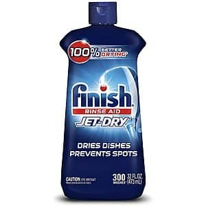 32-oz Finish Jet Dry Dishwasher Rinse Aid $6.63 or less w/ S&S