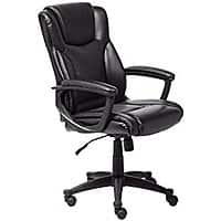 Serta at Home Black Leather Executive Office Chair $  162 (RR $  180).  Get $  103 SYW points.  Free shipping.