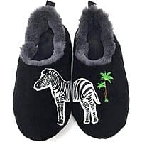 Women's Fuzzy Slippers (Various Styles & Size) for $6.39 + Free Shipping
