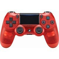 Sony - DualShock 4 Wireless Controller for PlayStation 4 - Red Crystal - $  39.99 @ Best Buy