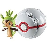 Throw 'N' Pop Pokémon Pokeball - Chespin and Froakie - Amazon Add-on Sale