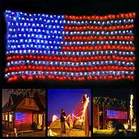 Amazon.com Led Flag Net Lights of The United States $13.49 Free shipping