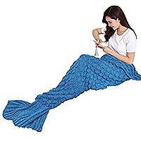 Mermaid Tail Blankets, FS w/ Prime $  8.39