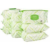 Select Amazon Accts: 720-Count Amazon Elements Baby Wipes, Flip-Top Pack $8.10 w/ S&S + Free S/H