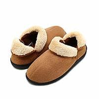 HomyWolf Womens/Mens Cotton House Slippers $7.99