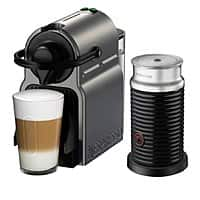 Nespresso - Inissia Espresso Maker/Coffeemaker/Milk Frother - Titan @ Best Buy $  99.99
