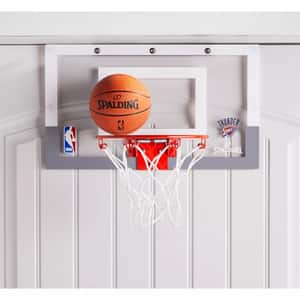 Spalding NBA Slam Jam Over-The-Door Team Edition Basketball Hoop $17.50 + Free Store Pickup