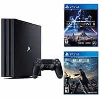 Playstation 4 Pro 1TB Console + Start War Battle Front 2 + Final Fantasy XV for $400 + Free Shipping (eBay Daily Deal)