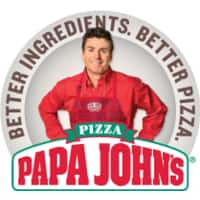 Papa John's Large 1-Topping Original or Thin Crust Pizza  Free (valid for 1st 10,000 Redemptions)
