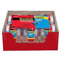 Amazon 6-Pack of Scotch Heavy Duty Packaging Tape w/ Dispenser  $8.65 with S&S