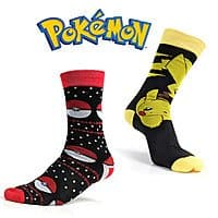 2-Pairs of Officially Licensed Bioworld Pokemon Adult Socks (Size L) $3.47 + Free Shipping