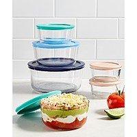 Pyrex 8-Piece Glass Mixing Bowl Set or Pyrex 12-Piece Glass Storage Set $15 each + Free Store Pickup