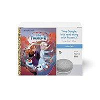 Google Home Mini + Frozen II Book $25