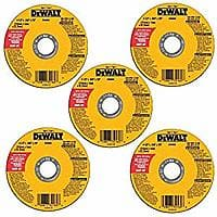 "Back Alive! 5-Pack DeWALT 4-1/2"" All Purpose Cutting Wheel $3 @ Amazon $2.99"