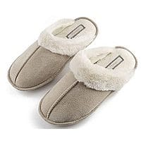 Slippers for Women Lady House Bedroom Fuzzy Womens Cozy Slippers $7.98