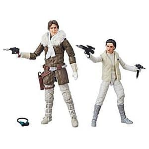 Target: Star Wars The Black Series Han Solo and Princess Leia Organa Hascon Exclusive Action Figure Set- $24.99