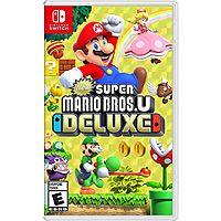 New Super Mario Bros. U Deluxe (Region Free, Nintendo Switch) $40 + Free S&H (Facebook Req.)