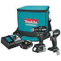 Makita Brushless sub compact combo (impact driver, drill) + $50 Rockler gift card, 2x2AH batteries, rapid charger,  tool bag - FS $199
