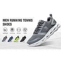 CAMEL CROWN Breathable Trail Running Shoes Lightweight Tennis Shoes Comfortable Sneakers Fashion Athletic Shoes for Men $16.99