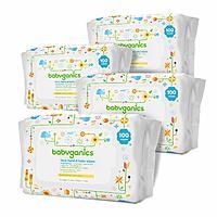Babyganics Hand & Baby Wipes, Fragrance Free, 400 ct S&S $8.83