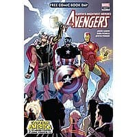 FREE Comic Book Day 2018: Avengers/Captain America #1 Image