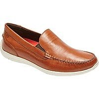Rockport Cullen Ventian Loafer in Cognac Leather $53.56 + Free Shipping