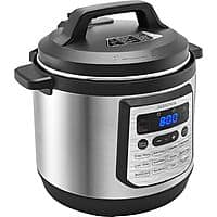 Insignia 8qt. Multi-Function Pressure Cooker-Stainless Steel $39.99 at Best Buy