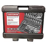 Craftsman 193 Piece Mechanics Tool Set $  99 Ace Hardware - Store Pick Up Only