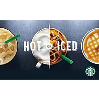Starbucks $  10$   for $  5 via Groupon (Targeted/YMMV)