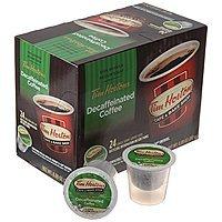 Tim Horton's Single Serve Coffee Cups, Decaffeinated, 24 Count - $  1.91 @ Amazon.com [ADD-ON ITEM]