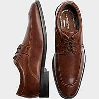 Rockport Smart Cover Brown Dress Shoes 67% off $48.99