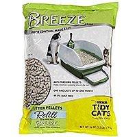 Purina Tidy Cats Breeze Litter System Cat Pellet Refills 3.5 lb pk of 6 - $  37 @ Amazon