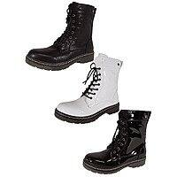 Mustang Women's Lace-Up Boots $19.99 Shipped