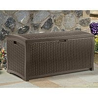 Suncast Wicker 99 Gal. Resin Deck Box @ Homedepot $20.80+tax