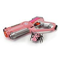 DYNASTY TOYS Girls Toys Pink Laser Tag Blaster and Flipping Robot Bug/Spider Target $9.99