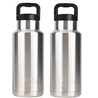2-Pack 36oz Ozark Trail Stainless Steel Vacuum Insulated Water Bottles  $8.90 + Free S&H w/ $35+