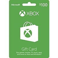 $100 Microsoft Xbox Gift Card (Email Delivery)  $85