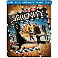 Serenity: Limited Edition Comic Art Bluray Steelbook (w/Digital) $9