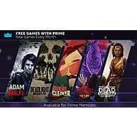 Twitch Prime Members: Free PC Digital Downloads: Stranger Things 3, The Walking Dead: Michonne, Deadlight: Director's Cut, Adam Wolfe & Serial Cleaner *Starts 10/1* Image