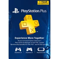 1-Year Sony PlayStation Plus Membership (Digital Delivery) $34.79