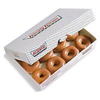 Krispy Kreme Stores: One Dozen Original Glazed Donuts $6 (Valid w/ Coupon)