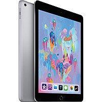 """Apple 9.7"""" iPad (Early 2018, 128GB, Wi-Fi + 4G LTE, Space Gray) $  499"""