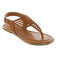 Arizona Women's Corsico T-Strap Flat Sandals (3 Colors) $14.39 + ship