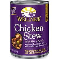 12-Pack 12.5oz Wellness Thick & Chunky Natural Wet Canned Dog Food (Chicken) $5.75 w/ Subscribe & Save