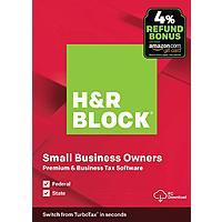 H &  R Block Premium Business 2019 digital download $39.99 - Amazon Prime member additional $10 off