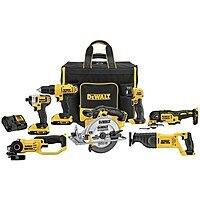 Dewalt 20v 7 Tool combo kit w/ soft rolling case - $399. Store Pickup, unable to ship to home. $65 truck delivery.