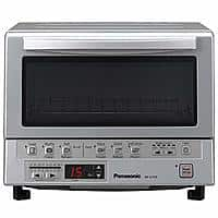 Panasonic Toaster Oven NB-G110P FlashXpress with Double Infrared Heating and Removable 9-Inch Inner Baking Tray, Silver, 1300W $94.99 Amazon