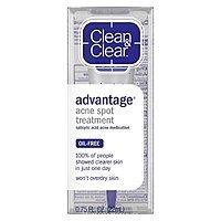 Clean & Clear Advantage Acne Spot Treatment (2% salicylic acid) .75 Oz. - $  3.98